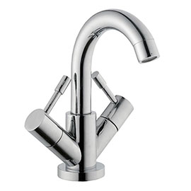Nuie Series 2 Mono Basin Mixer with Swivel Spout & Pop Up Waste - FJ315