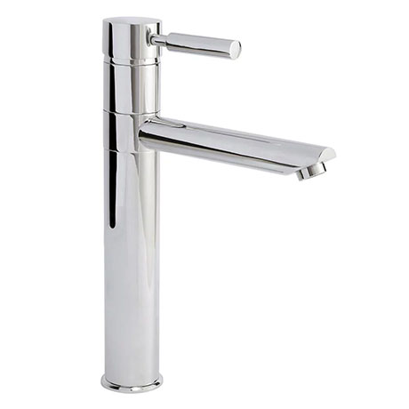 Ultra Series 2 High Rise Mixer Tap with Swivel Spout - Chrome - FJ319