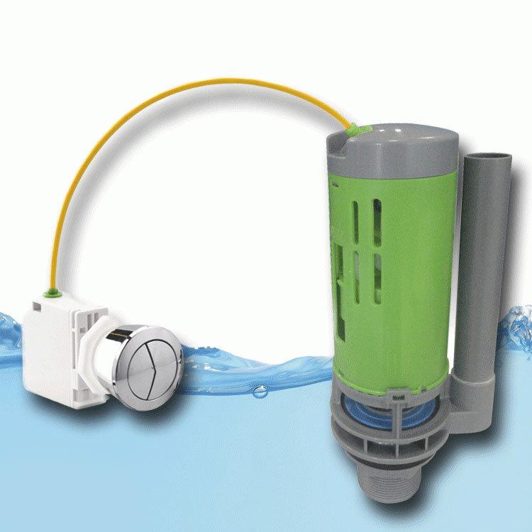 FlushKING - Flexi Mount Dual Flush Valve - FK-DF-C Large Image