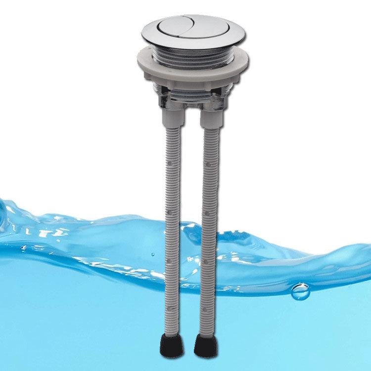 FlushKING - Top Press Dual Flush Valve - FK-DF-TP profile large image view 2
