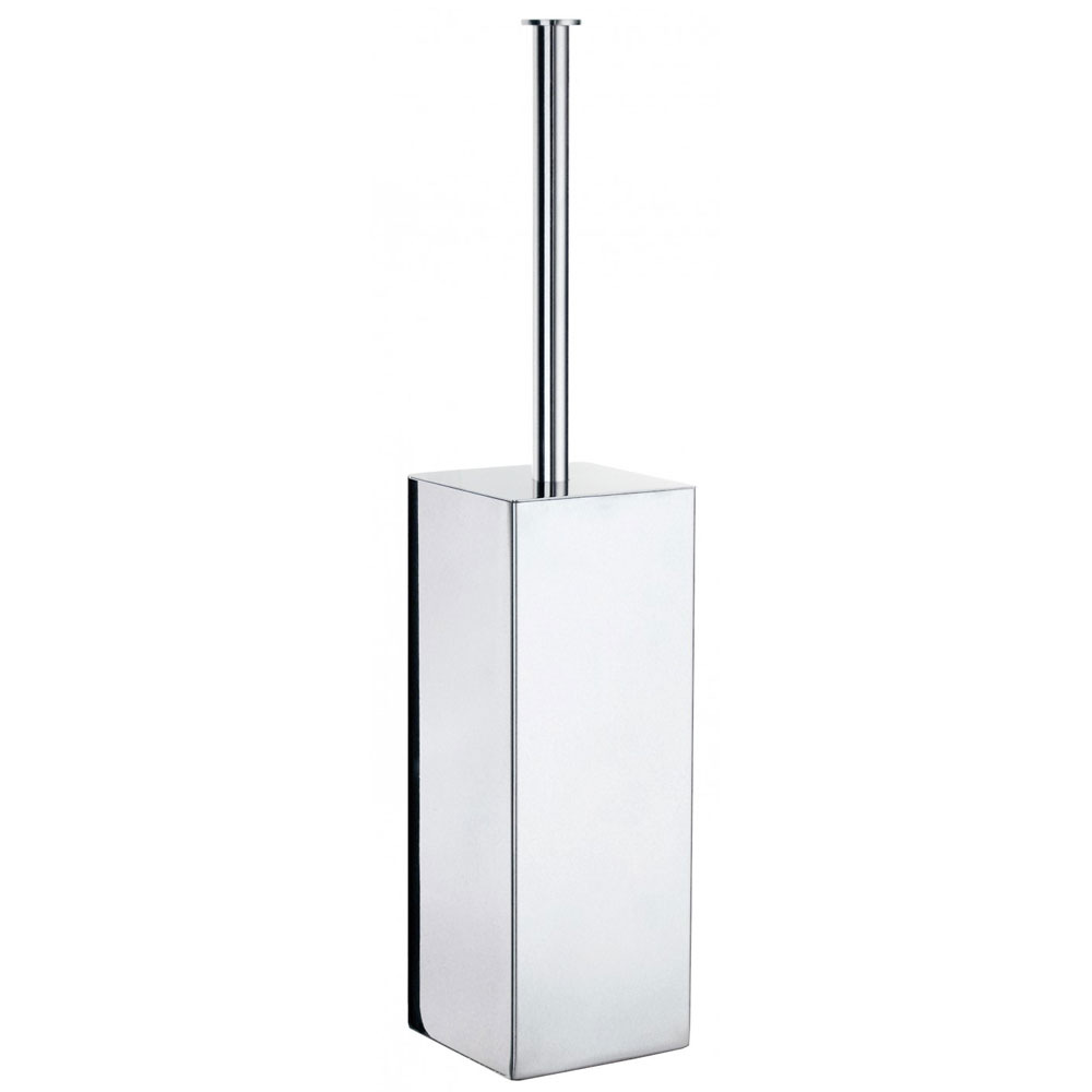 Smedbo Outline Lite Square Freestanding Toilet Brush - FK601 Large Image