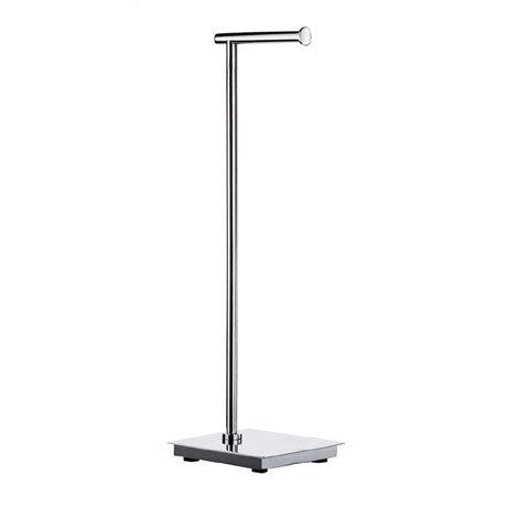 Smedbo Outline Lite Square Freestanding Toilet Roll Holder - FK602