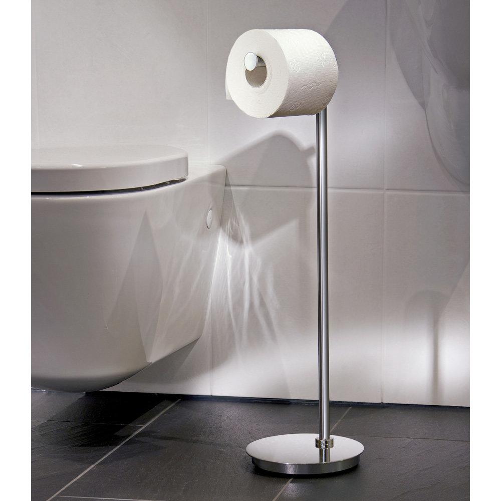 Smedbo Outline Lite Round Toilet Roll Holder Victorian