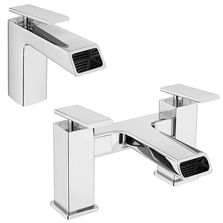 Flare Modern Tap Package (Bath + Basin Tap)