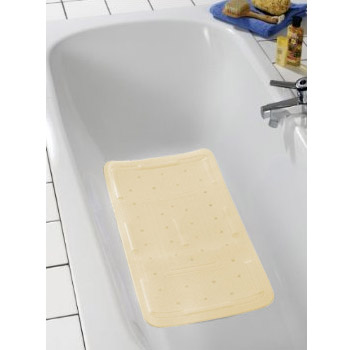 Wenko Florida Bath Mat - Beige - 2 Size Options profile large image view 2