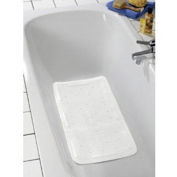 Wenko Florida Bath Mat - White - 2 Size Options profile large image view 2