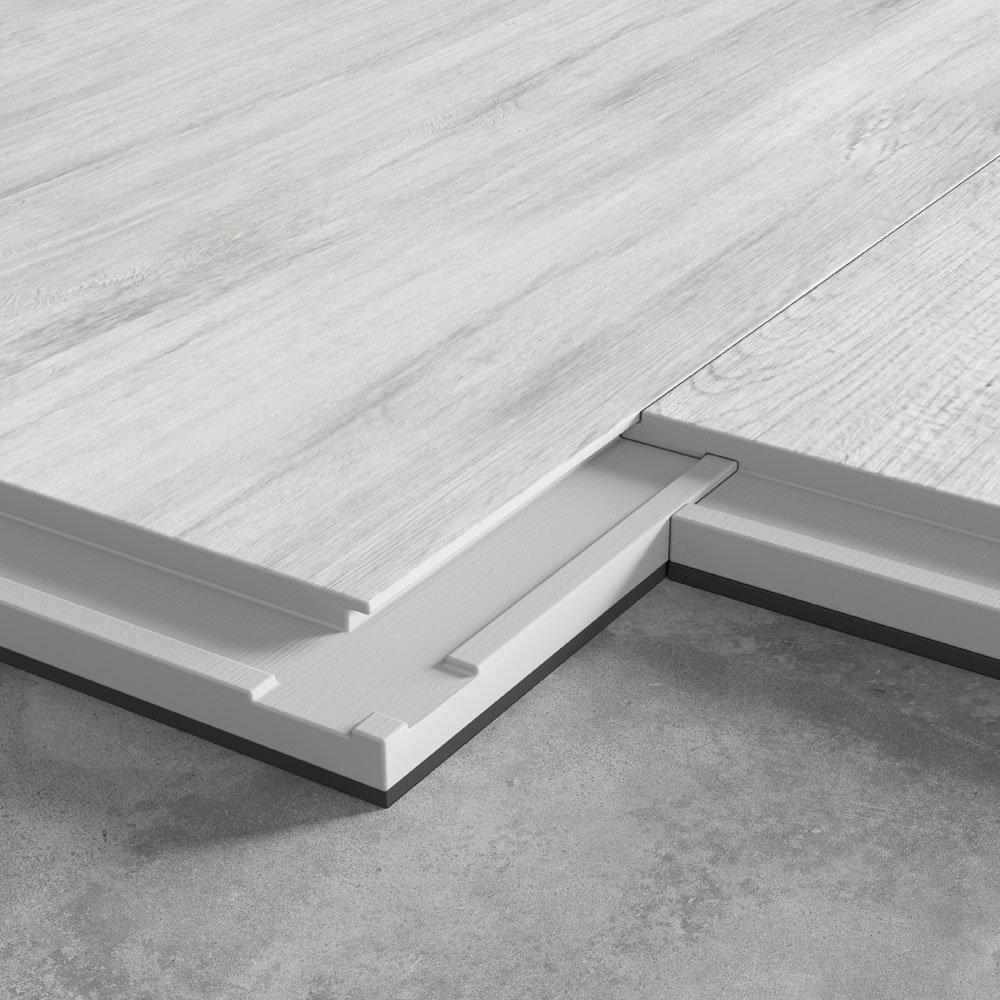 Harlow 181 x 1220mm Dove Grey Finish Vinyl Waterproof Plank Flooring  Feature Large Image