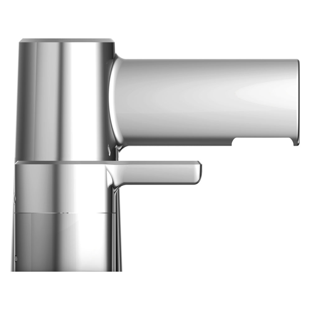 Bristan Flute 3 Hole Basin Mixer with Clicker Waste Profile Large Image
