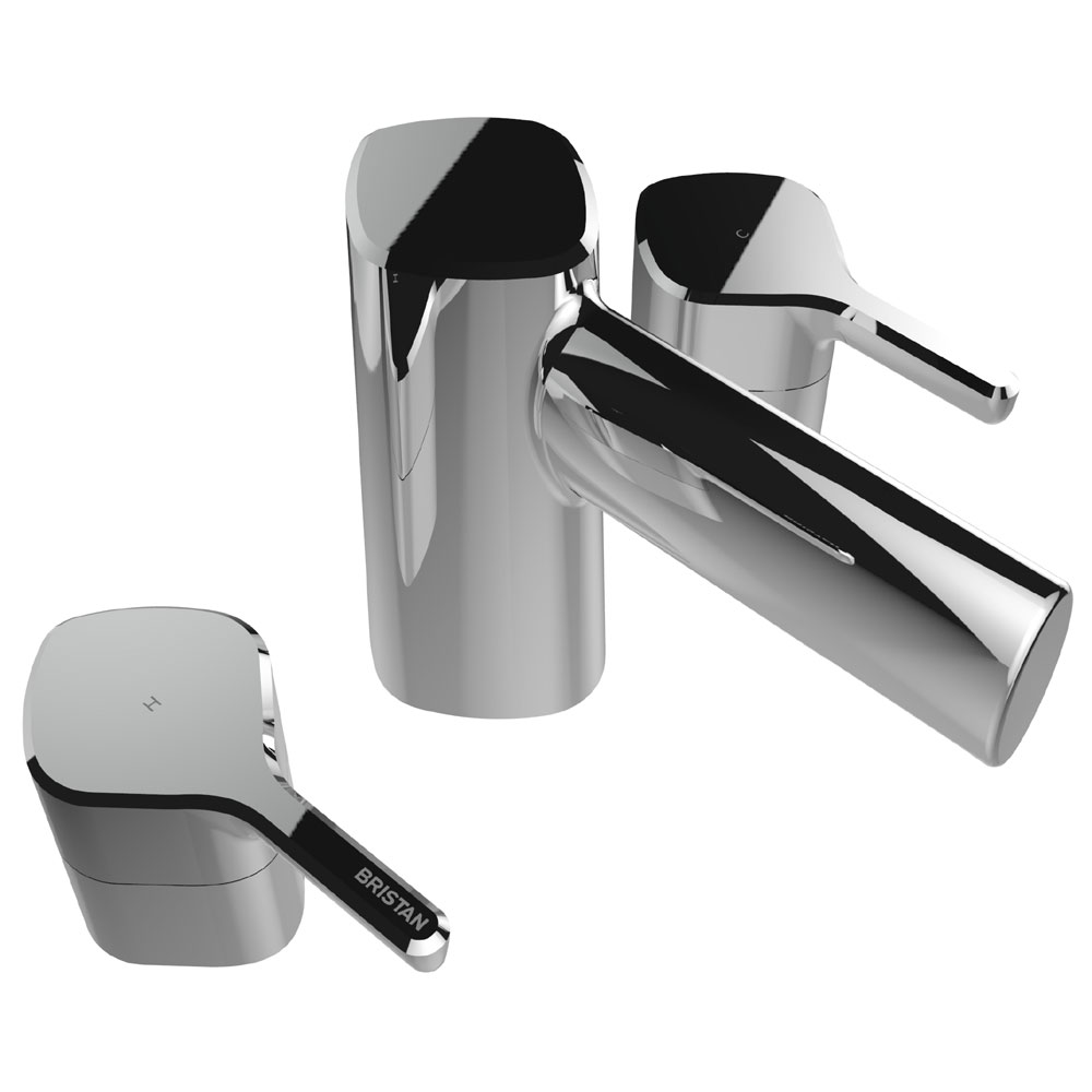 Bristan Flute 3 Hole Bath Filler Large Image