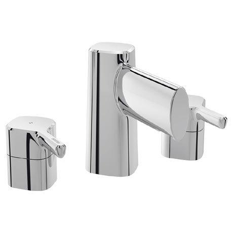 Bristan Flute 3 Hole Bath Filler