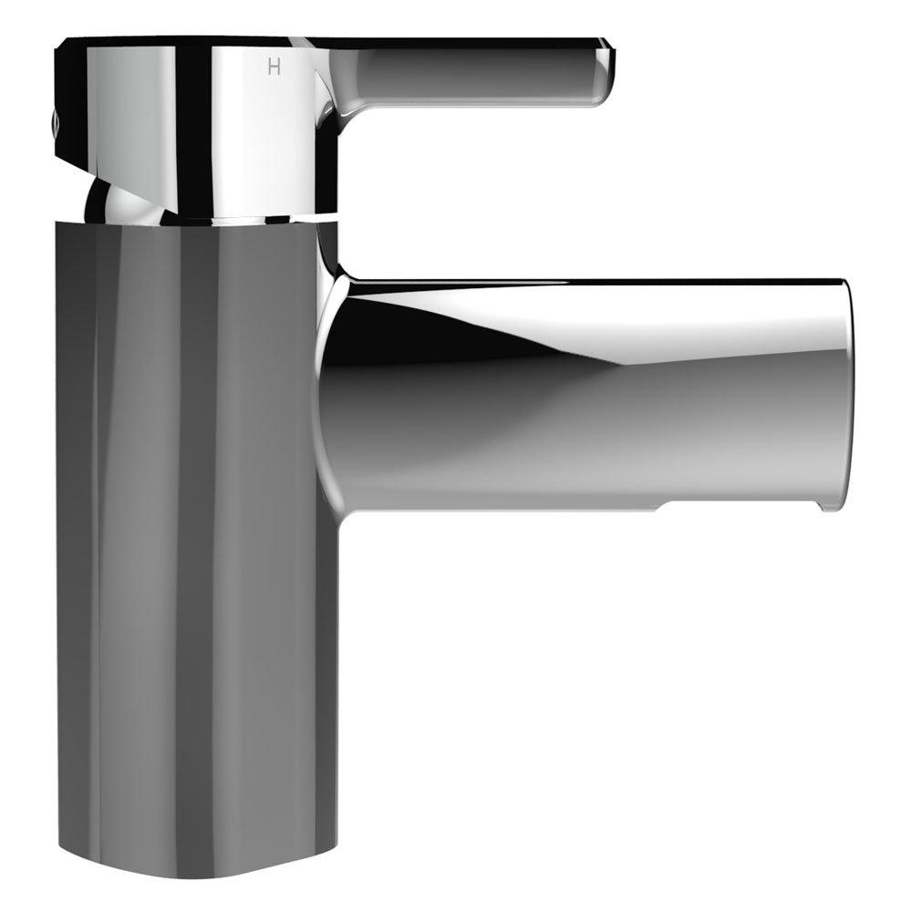 Bristan Flute Mono Basin Mixer with Clicker Waste Profile Large Image