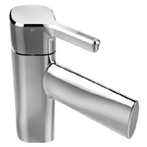 Bristan Flute Mono Basin Mixer with Clicker Waste Medium Image