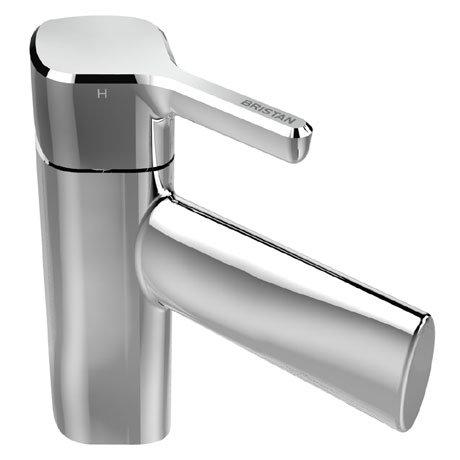 Bristan Flute Mono Basin Mixer with Clicker Waste