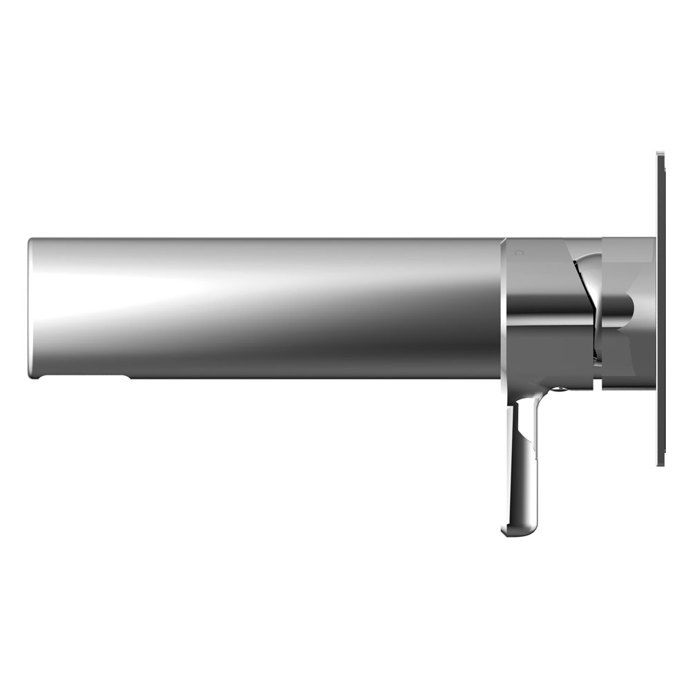 Bristan Flute Wall Mounted Basin Mixer profile large image view 2