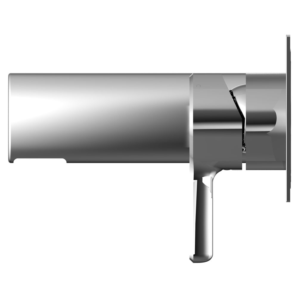 Bristan Flute Wall Mounted Bath Filler profile large image view 2