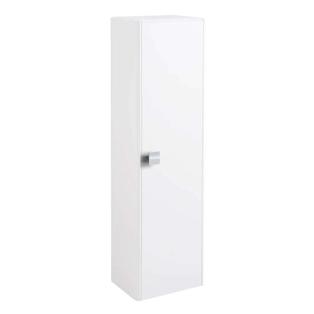 Hudson Reed Sarenna 350mm Tall Unit - White profile large image view 1