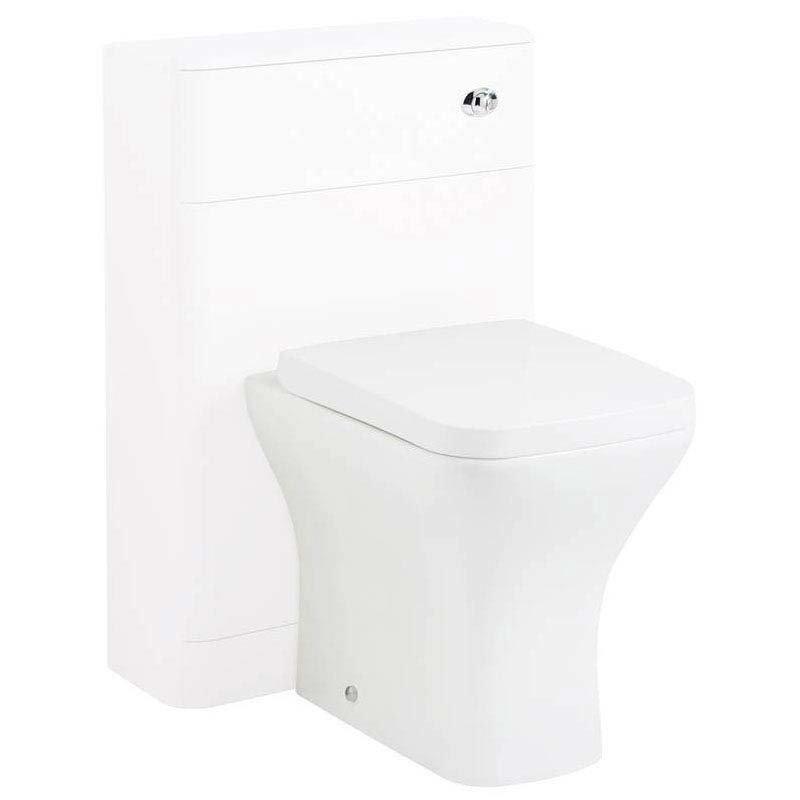 Hudson Reed Sarenna 500mm WC Unit - White Large Image
