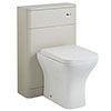 Hudson Reed Sarenna 500mm WC Unit - Cashmere Small Image