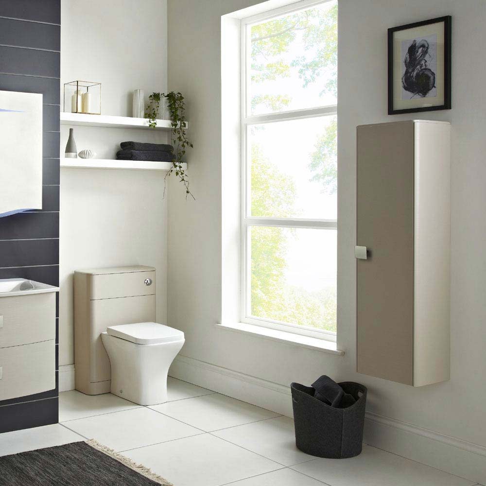 Hudson Reed Sarenna 500mm WC Unit - Graphite profile large image view 2