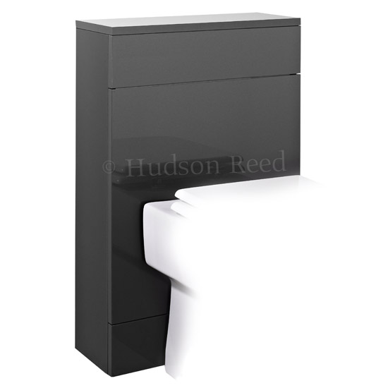 Hudson Reed Memoir Back to Wall WC Unit W500 x D200mm - Grey - FME010 Large Image