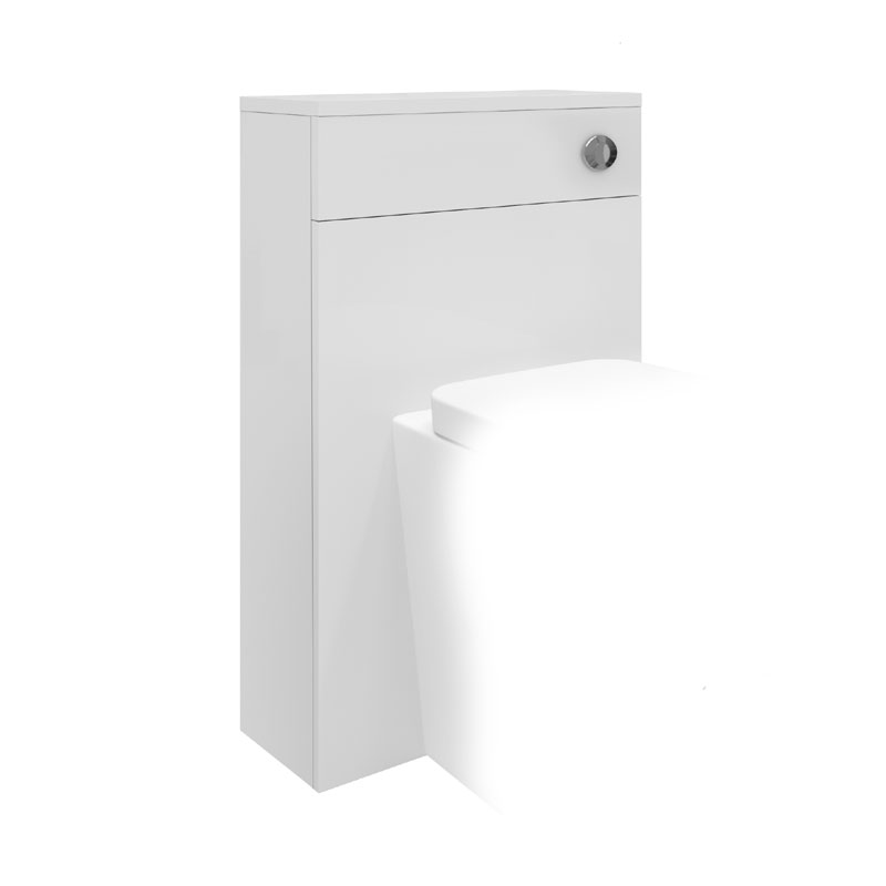 Hudson Reed Memoir 500mm Back to Wall WC Unit - Gloss White - FME011 Large Image