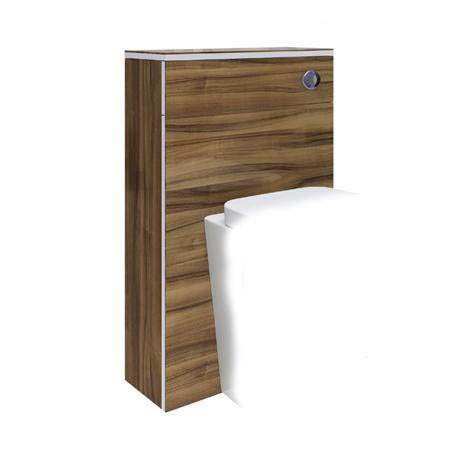 Hudson Reed Memoir 500mm Back to Wall WC Unit - Gloss Walnut - FME013