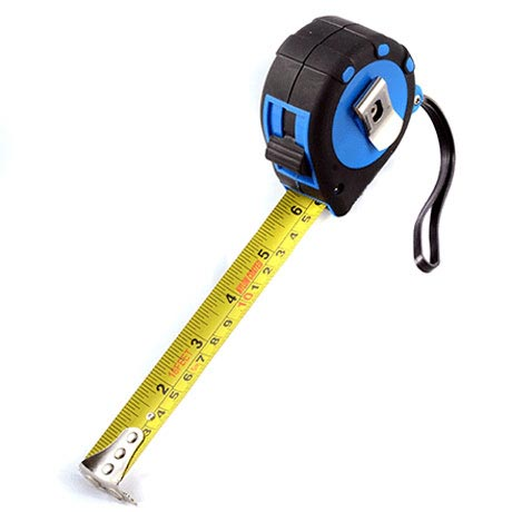 Tile Rite 5m Nylon Coated Steel Measuring Tape Large Image