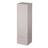 Urban 400mm Wall Hung Tall Unit - Cashmere profile small image view 1