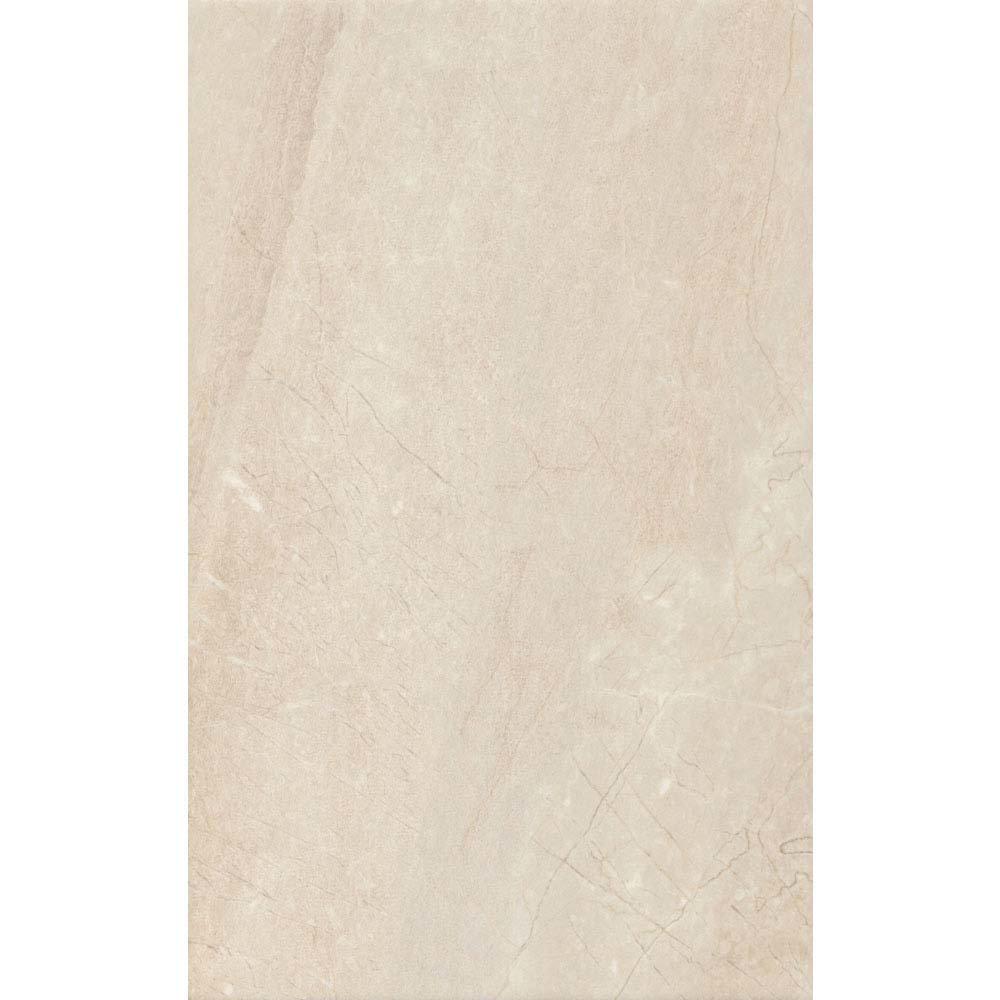 Loreno Light Cream Gloss Wall Tiles - 25 x 50cm Large Image