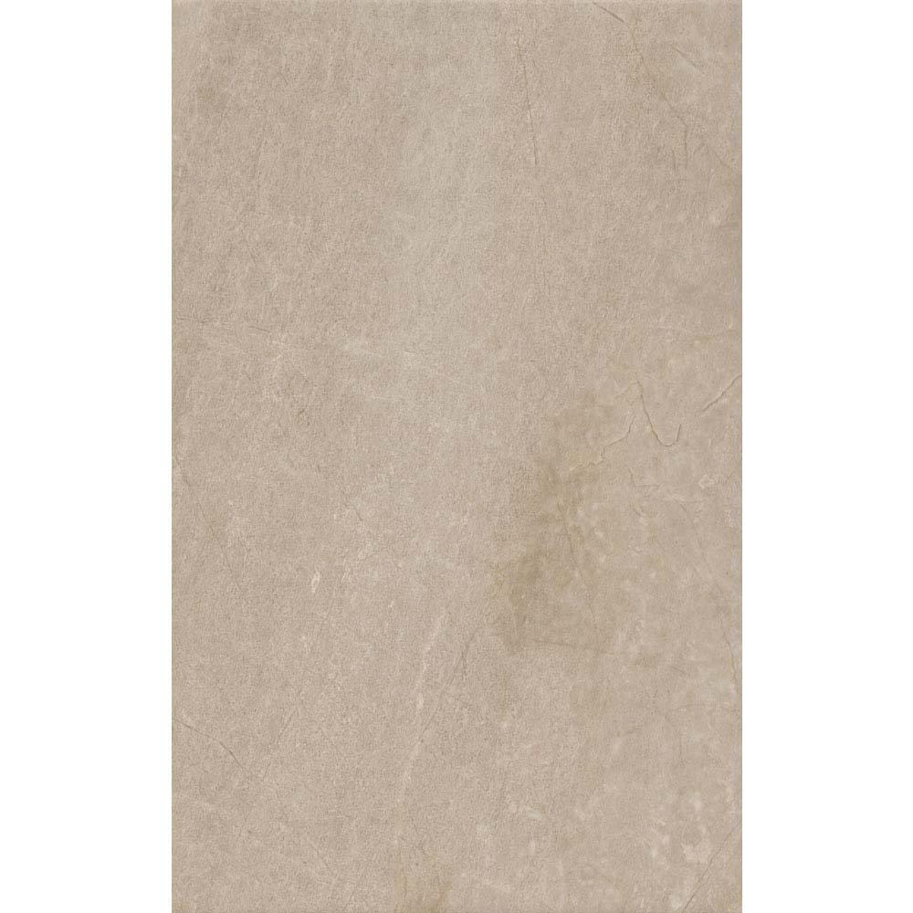 Loreno Dark Cream Gloss Wall Tiles - 25 x 50cm Large Image