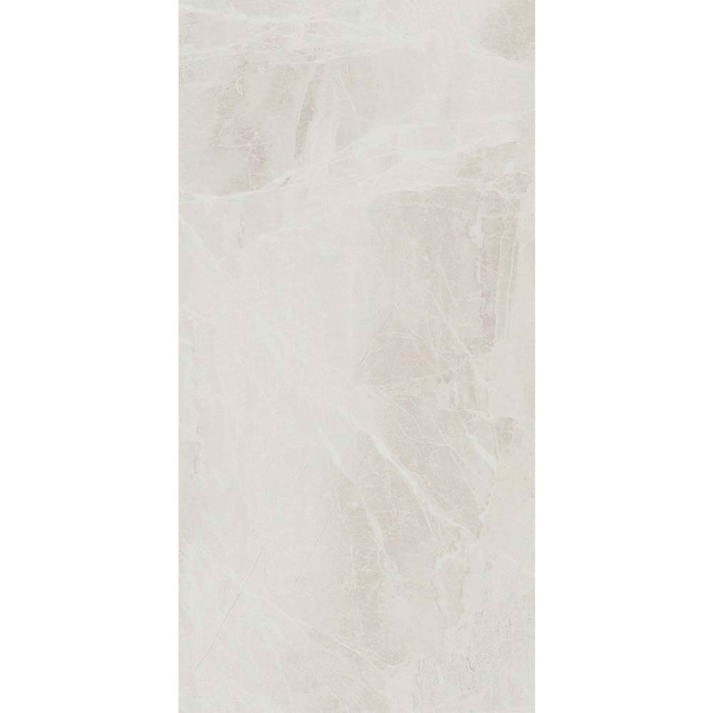 Gio Bone Gloss Marble Effect Wall Tiles - 30 x 60cm  In Bathroom Large Image