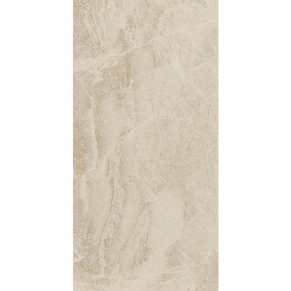 Gio Beige Gloss Marble Effect Wall Tiles - 30 x 60cm  Profile Large Image