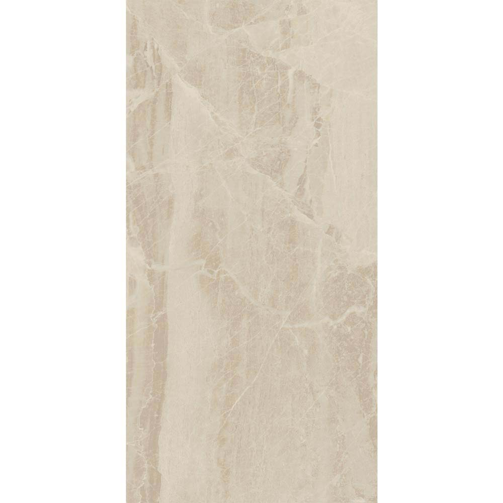 Gio Beige Gloss Marble Effect Wall Tiles - 30 x 60cm  additional Large Image