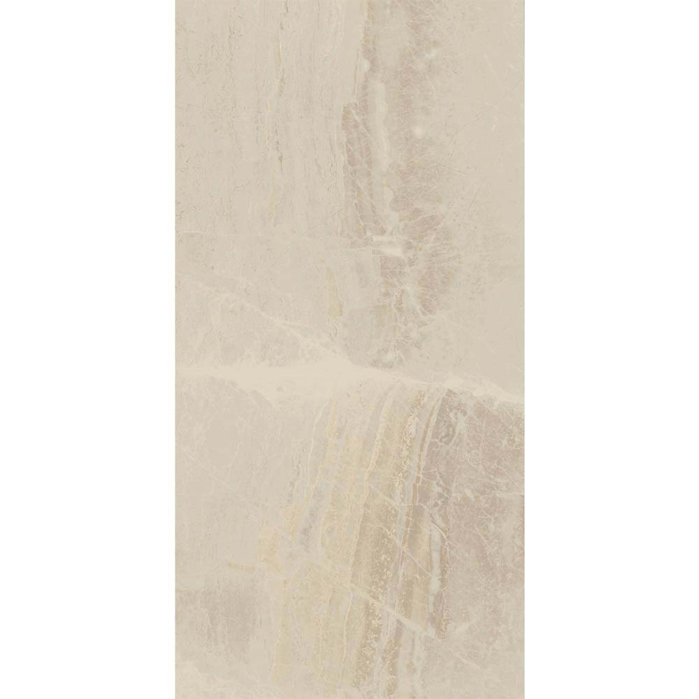 Gio Beige Gloss Marble Effect Wall Tiles - 30 x 60cm  Newest Large Image