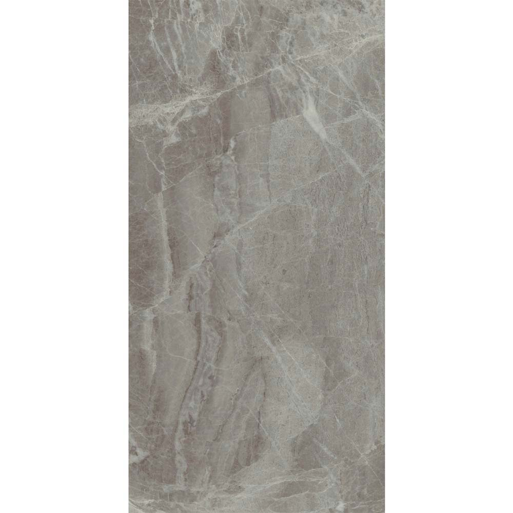 Gio Grey Gloss Marble Effect Wall Tiles - 30 x 60cm  Profile Large Image