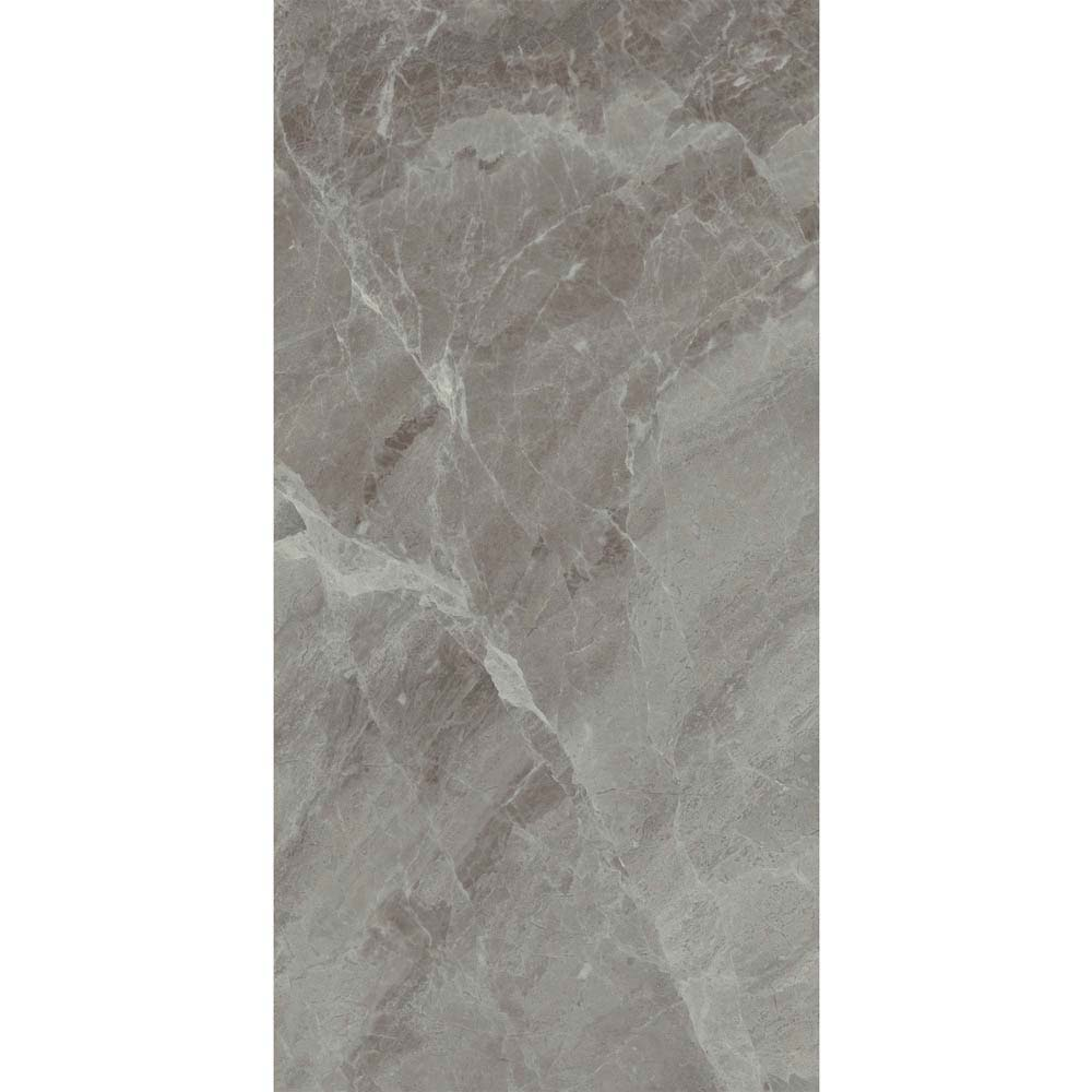 Gio Grey Gloss Marble Effect Wall Tiles - 30 x 60cm  Standard Large Image