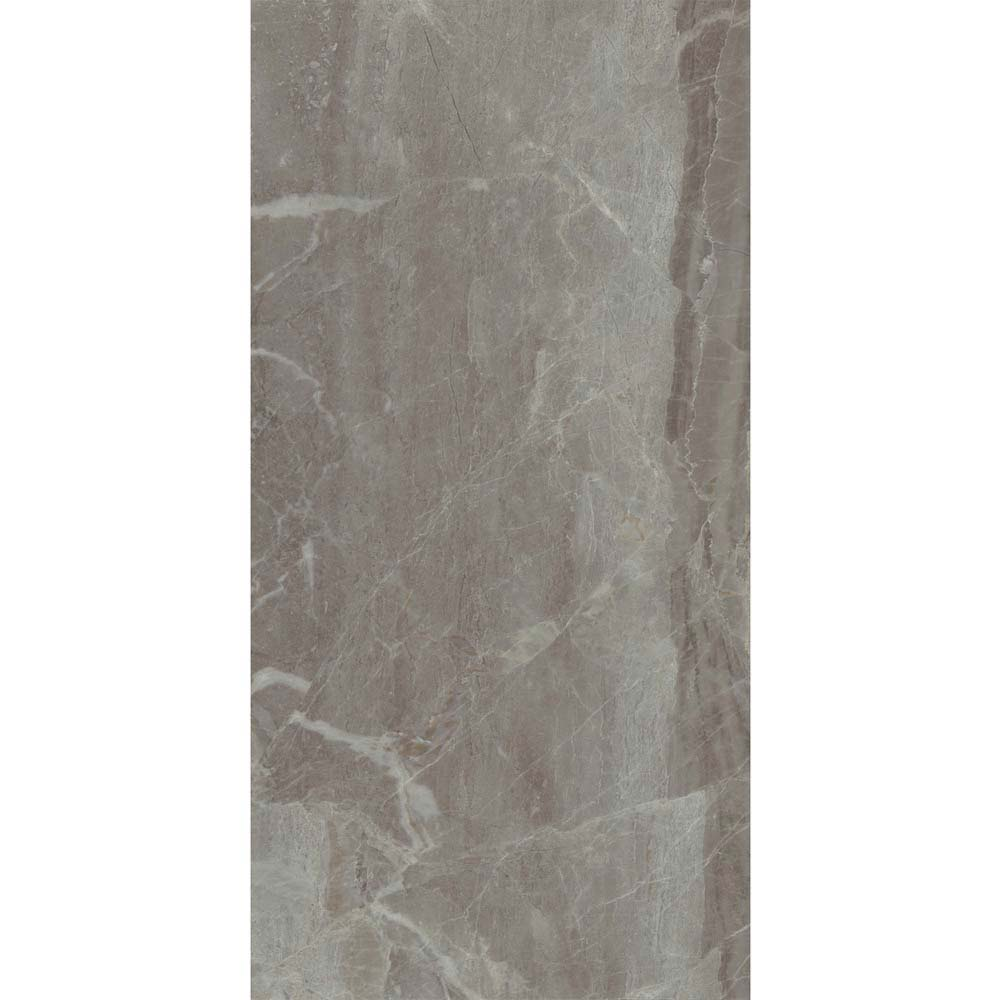 Gio Grey Gloss Marble Effect Wall Tiles - 30 x 60cm  additional Large Image