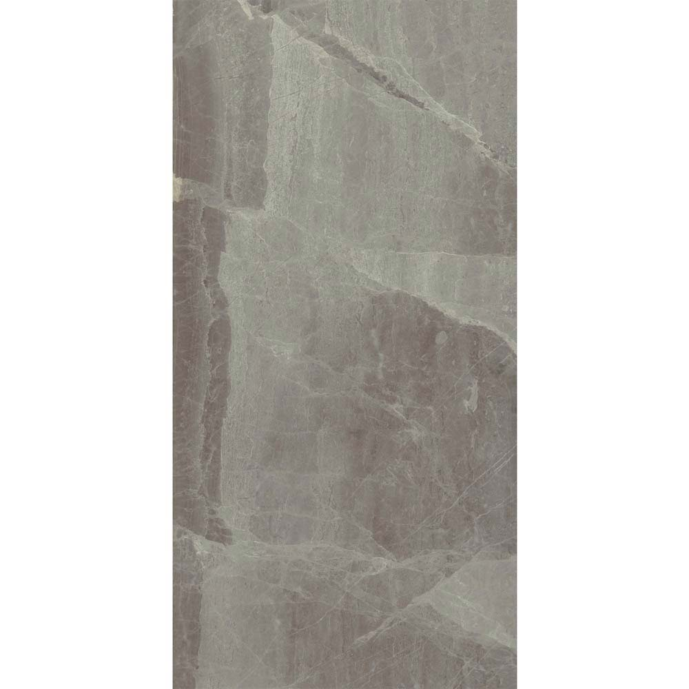 Gio Grey Gloss Marble Effect Wall Tiles - 30 x 60cm  Newest Large Image