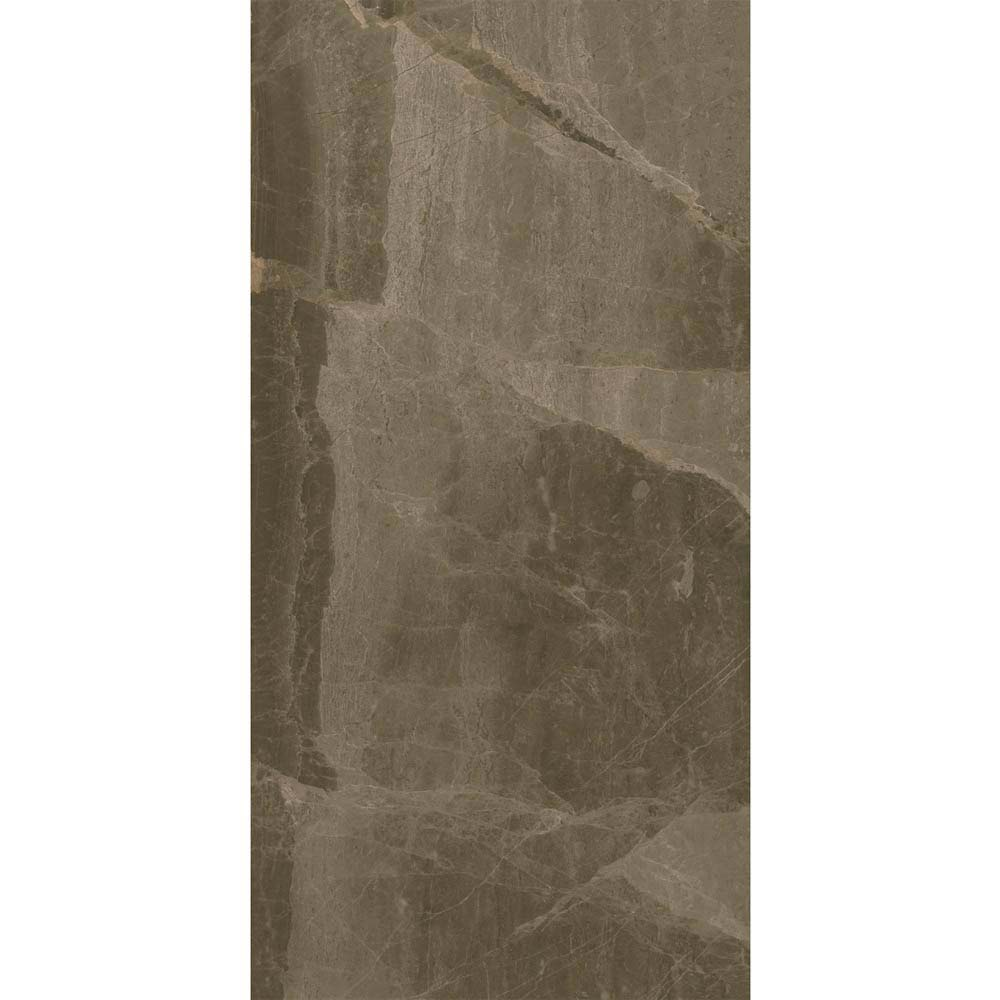 Gio Brown Gloss Marble Effect Wall Tiles - 30 x 60cm  additional Large Image
