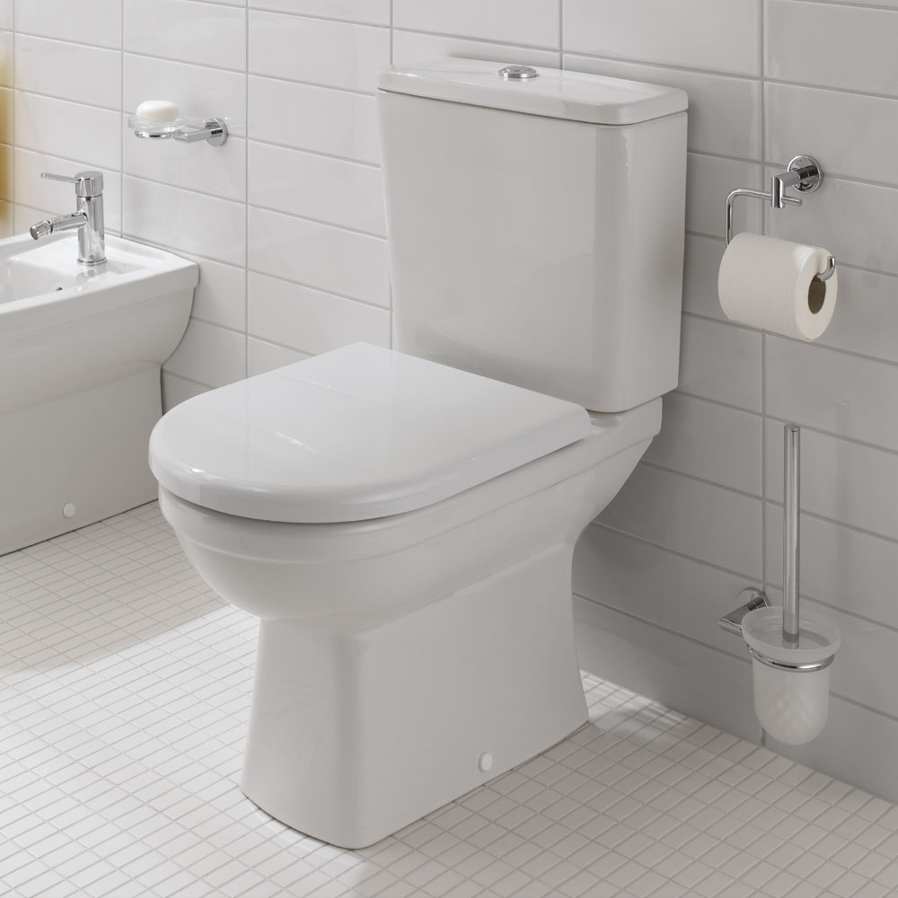 Vitra - Form 300 Close Coupled Toilet (Open Back) profile large image view 2
