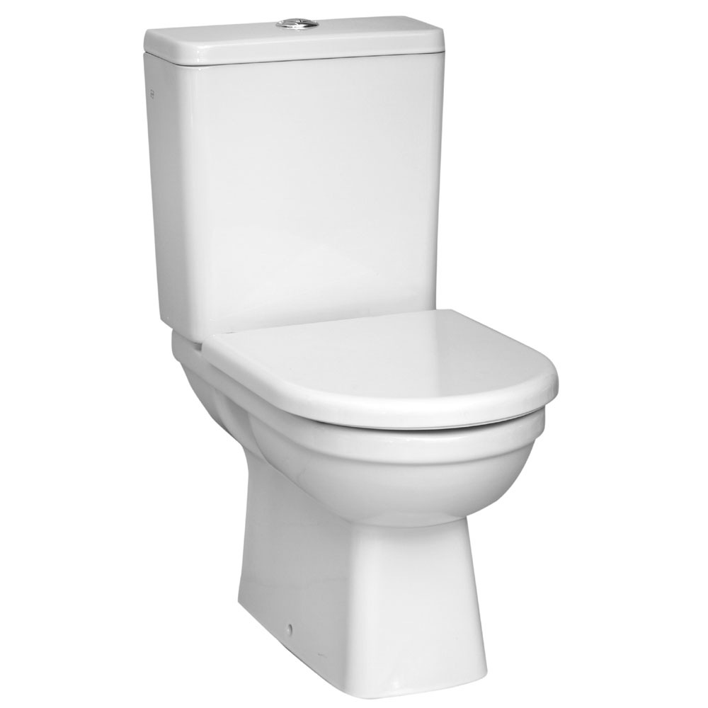 Vitra - Form 300 Close Coupled Toilet (Open Back) profile large image view 1