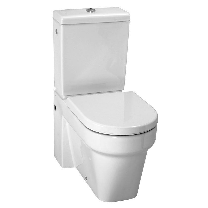 Laufen - Form Close Coupled Toilet - FORMWC1 profile large image view 1