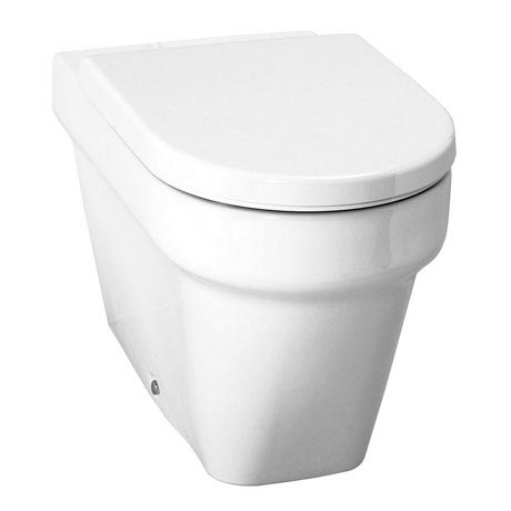 Laufen - Form Back to Wall Pan with Toilet Seat - FORMWC2