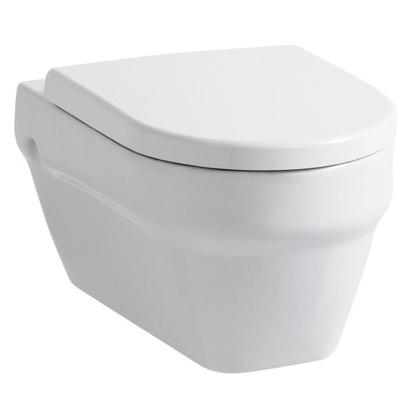 Laufen - Form Wall Hung Pan with Toilet Seat - FORMWC3 profile large image view 1
