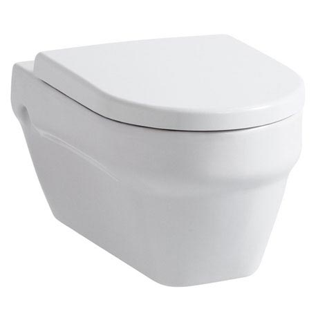 Laufen - Form Wall Hung Pan with Toilet Seat - FORMWC3