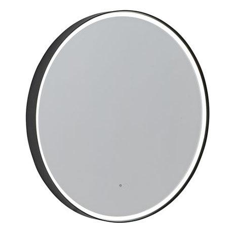 Roper Rhodes Frame 800mm LED Illuminated Round Mirror - Grey - FR80RG