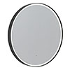 Roper Rhodes Frame 800mm LED Illuminated Round Mirror - Grey - FR80RG profile small image view 1
