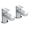 Bristan Frenzy Basin Taps Chrome - FRZ-1/2-C profile small image view 1