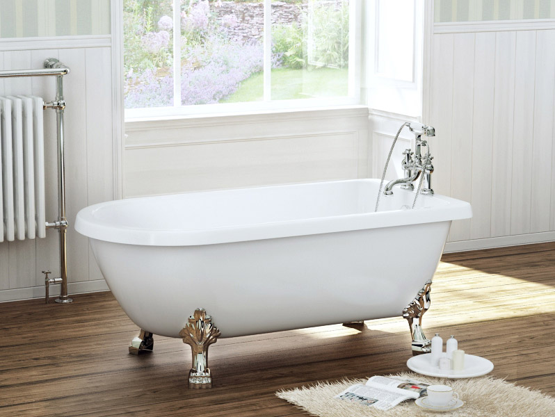 Legend Traditional Bathroom Suite At Victorian Plumbing Uk: York 1470 X 730 Luxury Freestanding Single Ended Bath With