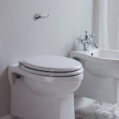 Burlington Front + Top Access Dual Flush Cistern with Ceramic Lever